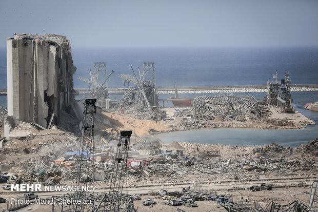بازسازی بندر بیروت به بیش از ۲ میلیارد دلار هزینه نیاز دارد