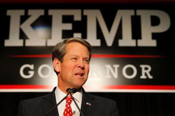 فرماندار جورجیا درخواست ترامپ برای«ابطال»نتایج انتخابات را رد کرد