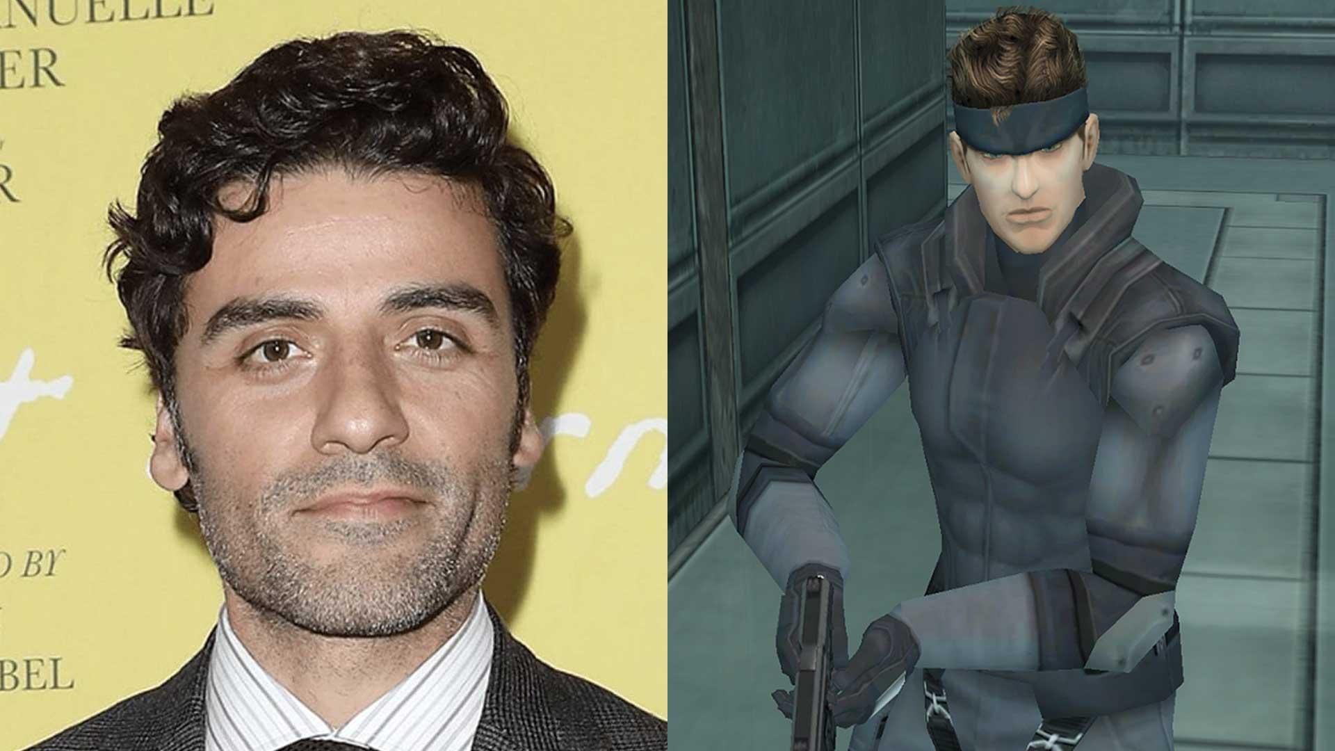 اسکار آیزاک نقش سالید اسنیک را در فیلم Metal Gear Solid ایفا خواهد کرد