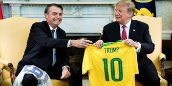 «استیضاح ترامپ برزیل» کلید خورد