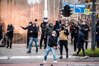 گسترش آشوب و جنگ خیابانی در شهرهای هلند+ فیلم