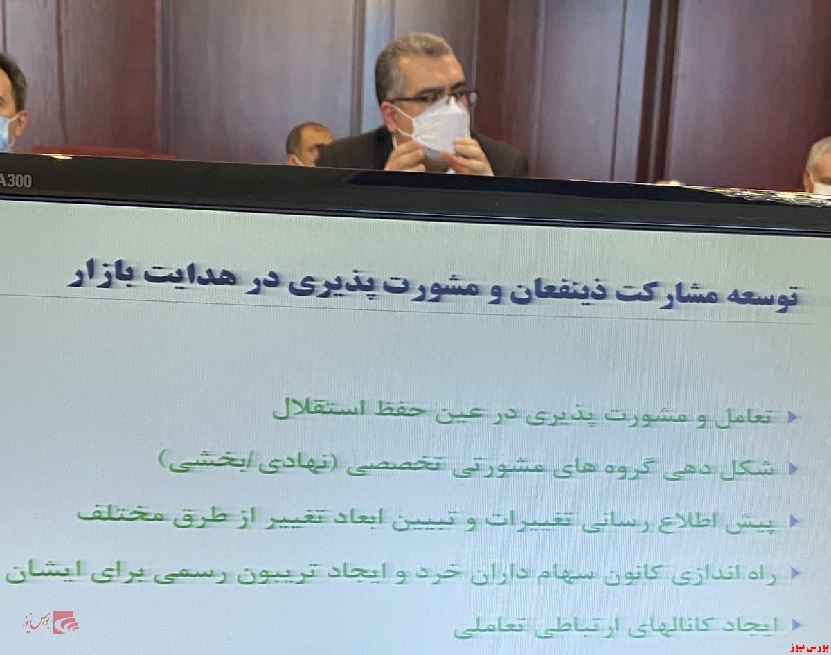 محمدعلی دهقان، رئیس سازمان بورس شد