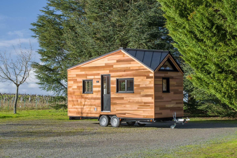 این خانه ۶ متری قابل حمل تمام ویژگیهای یک سکونتگاه همیشگی را دارد