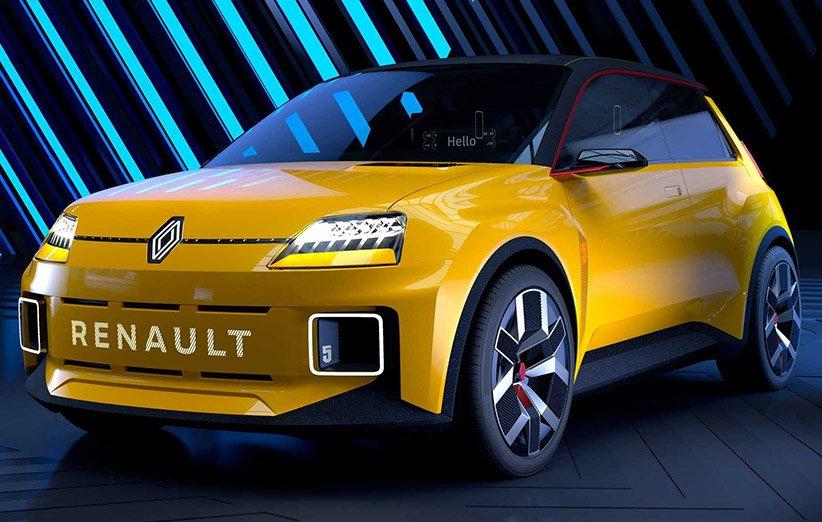 خودروی نوستالژیک رنو پس از سالها با پیشرانهی الکتریکی به خیابان بازمیگردد