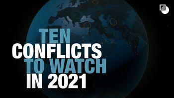سایه جنگ بر سر ۴ کشور در سال ۲۰۲۱