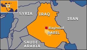 صدای چند انفجار در شمال استان بابل عراق شنیده شد