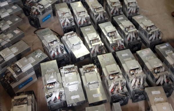 تولید ارز دیجیتال در زیر زمین
