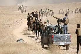 شهادت ۱۰ نیروی الحشد الشعبی در جریان درگیری با داعش