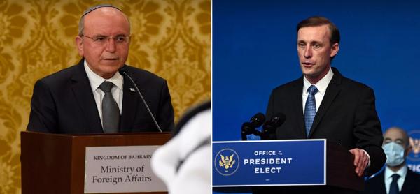گفتوگوی سالیوان و مشاور امنیت ملی نتانیاهو با محوریت ایران