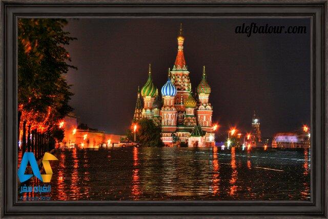 تماشای زیباترین جاذبه های توریستی مسکو در نوروز