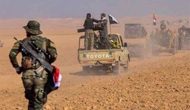 شهادت ۱۱ نیروی حشد شعبی در درگیری با داعش