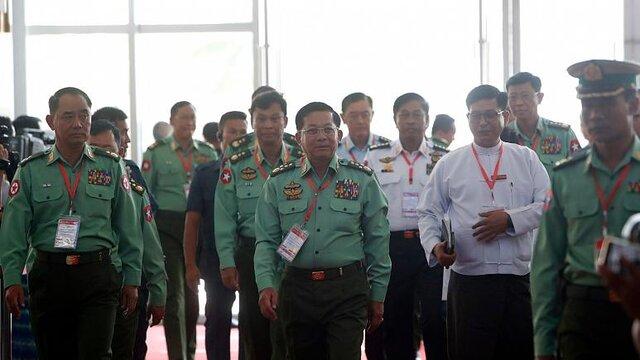 ارتش میانمار به دولت: اختلافات انتخاباتی حل و فصل نشود مداخله میکنیم