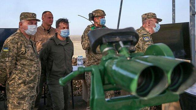 اوکراین با ناتو رزمایش مشترک برگزار میکند