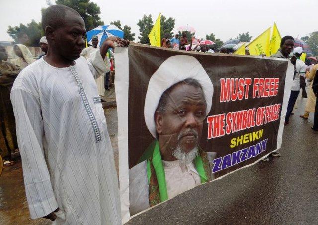 حمله نیروهای امنیتی نیجریه به معترضان به محاکمه شیخ زکزاکی