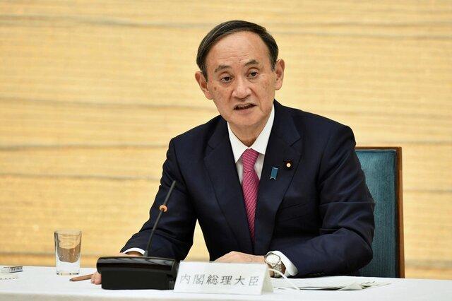 سوگا بابت پارتی رفتن قانونگذاران ژاپنی عذرخواهی کرد