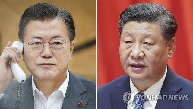 """ابراز حمایت رئیس جمهور چین از خلع سلاح هستهای شبه جزیره کره در تماس تلفنی با """"مون"""""""