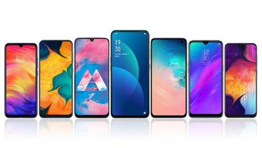 قیمت ۱۰ گوشی محبوب بازار/گوشیهای محبوب از ۳ تا ۱۳ میلیون تومان