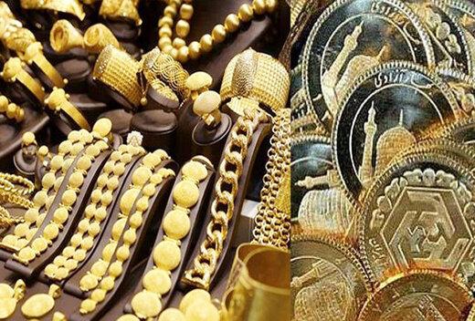 افت ارزش سکه و طلا در بازار