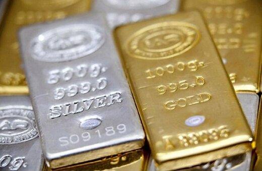افزایش ۴ دلاری طلای جهانی در اونس