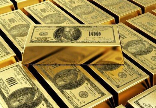 دلار افت کرد/ طلا بالا رفت