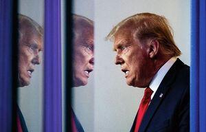 اظهارات دو پهلوی ترامپ: طرفدار خشونت نیستم