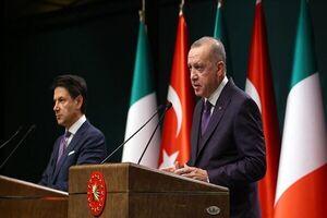 اردوغان با نخستوزیر ایتالیا گفتگو کرد