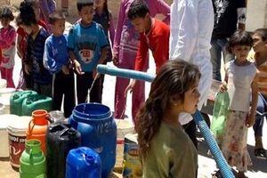 نیروهای ترکیه آب شرب شهر الحسکه سوریه را قطع کردند