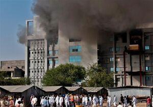 آتشسوزی در بزرگترین کارخانه تولید واکسن دنیا ۵ قربانی گرفت