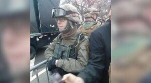 یک نظامی پیشین آمریکا به اتهام حمله به کنگره دستگیر شد