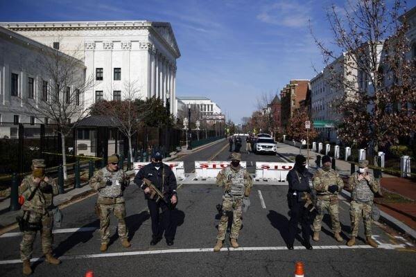 نیروهای نظامی در شهرهای مهم آمریکا به حالت آماده باش درآمدند