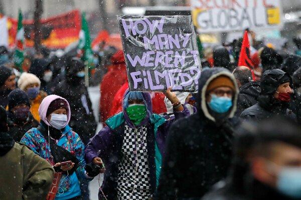 بازداشت ۷۵ تن از معترضان علیه لایحه امنیتی جدید در فرانسه