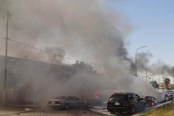 شنیده شدن صدای انفجار در بابل عراق