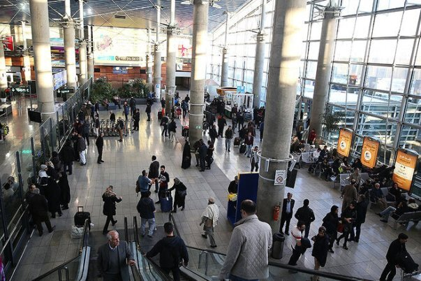 کاهش ۸۴ درصدی تردد مسافرتهای خارجی/ اعلام آمار مسافران ورودی