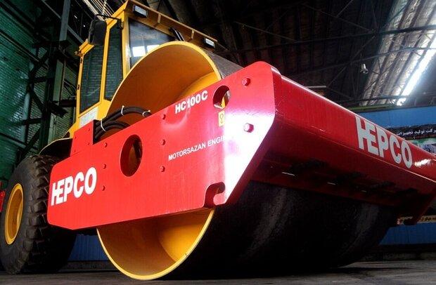 سازمان راهداری مشتری ۲۰۰ دستگاه از ماشین آلات هپکو است