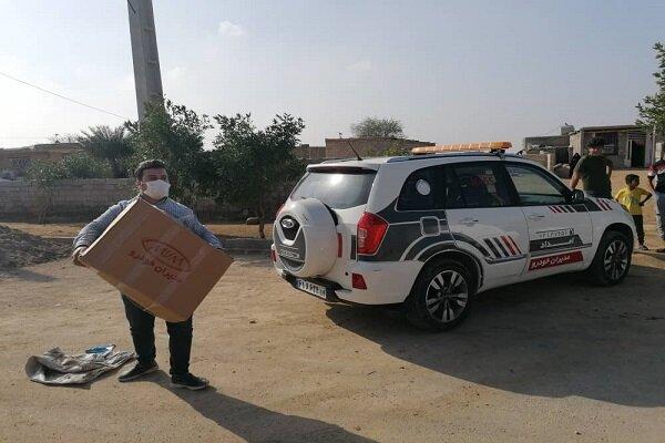 ارسال کمکهای شرکت مدیران خودرو به مناطق سیلزده