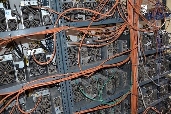 کشف ۱۶۷ دستگاه استخراج کننده بیت کوین در شهرک صنعتی کرمانشاه