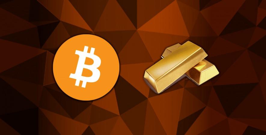 بیت کوین، دلیل کاهش قیمت طلا