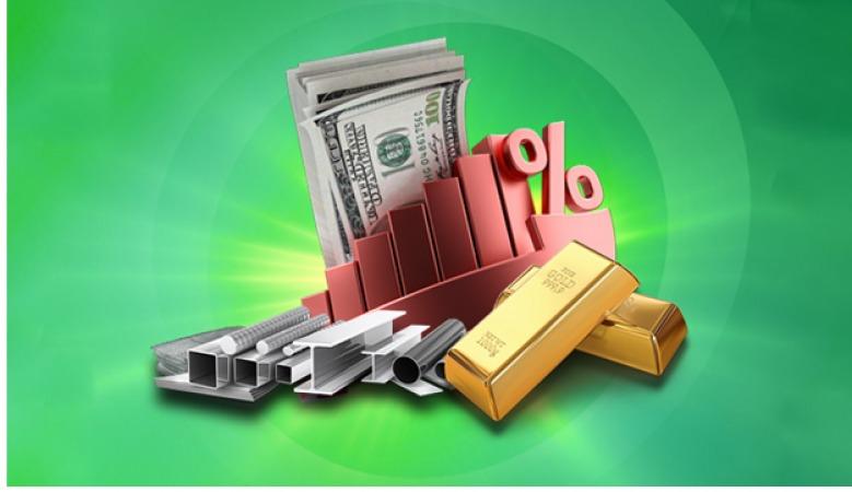 تاثیر قیمت دلار بر قیمت آهن و طلا