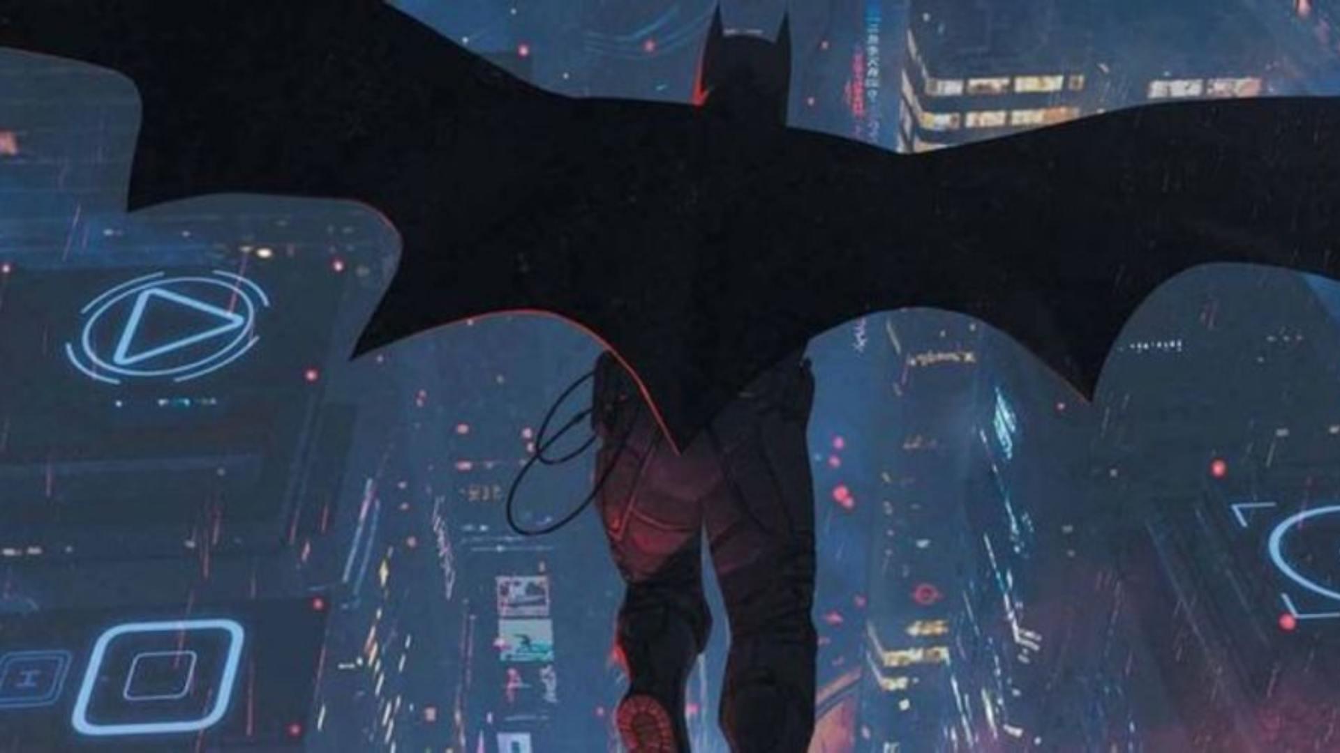 دو لباس جدید برای سری کتاب کمیک The Next Batman طراحی شد