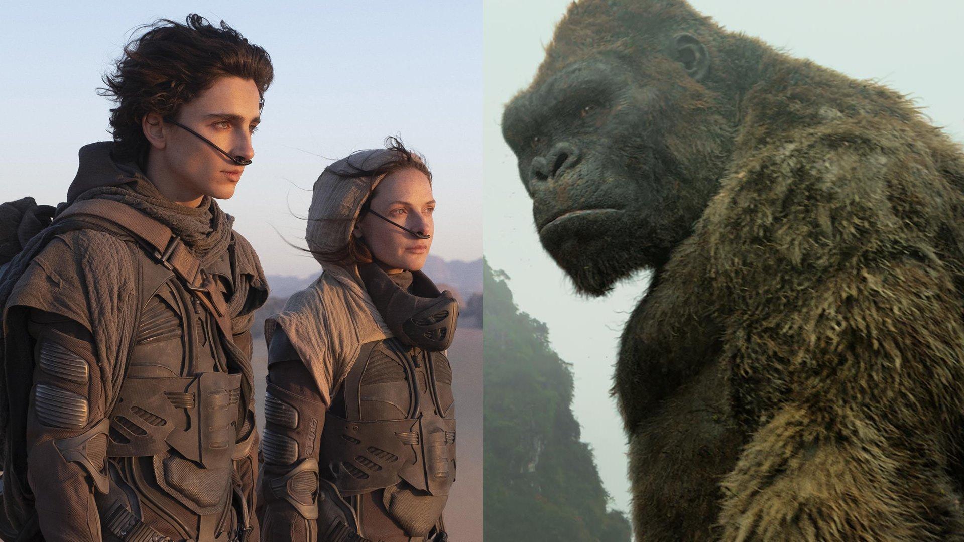 گزارش باکس آفیس: چرا Dune و Godzilla vs. Kong ریسکیترین فیلمهای ۲۰۲۱ هستند؟