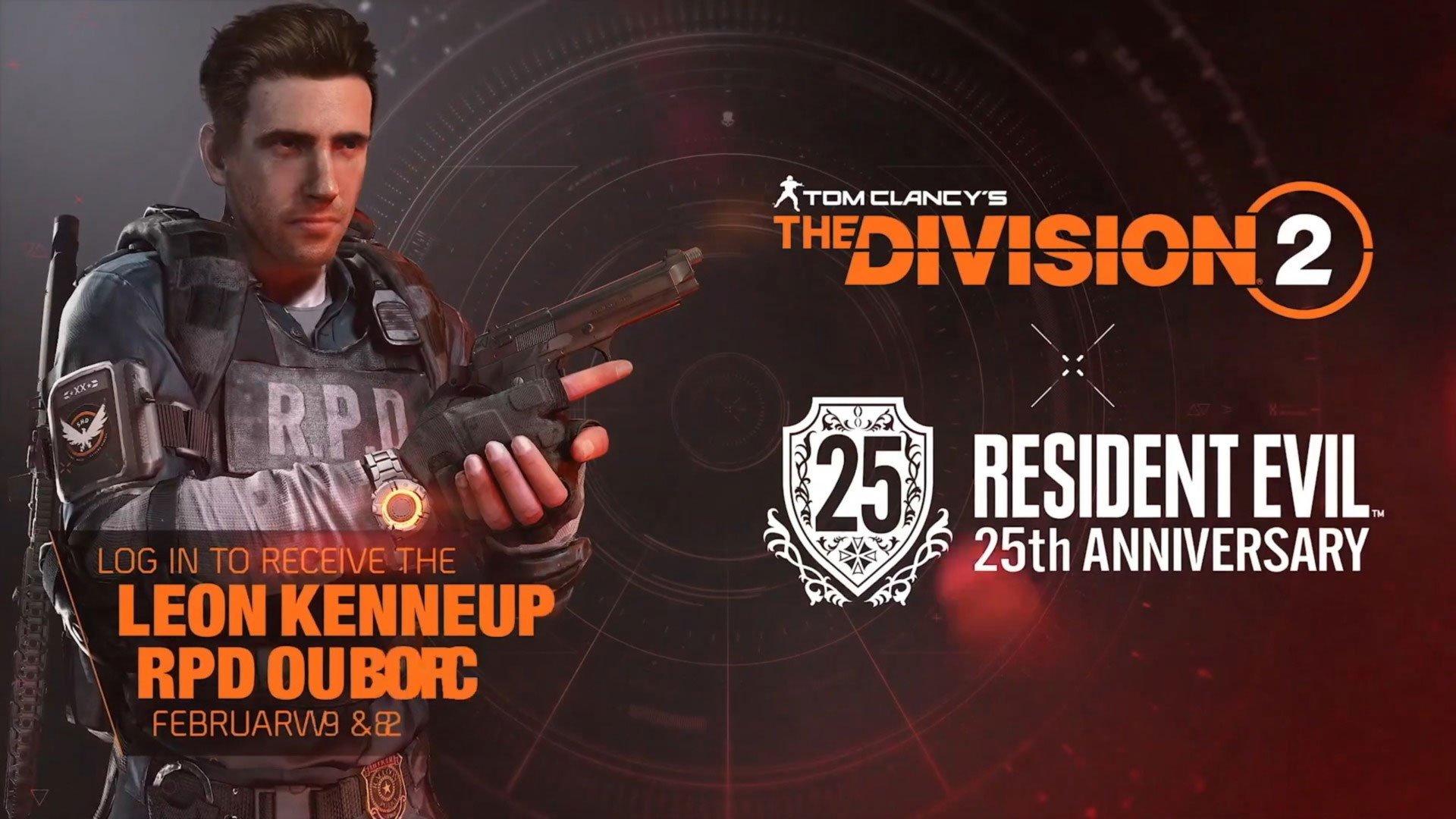 لباس کاراکترهای Resident Evil به بازی The Division 2 اضافه میشود