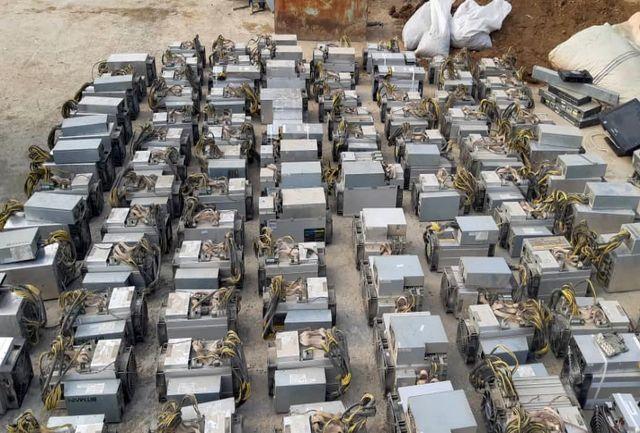 کشف مزرعه میلیاردی تولید بیت کوین
