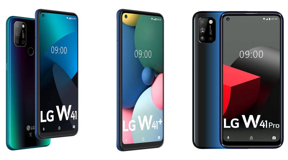 الجی از ۳ موبایل سری W41 با چیپست هلیو G35 رونمایی کرد