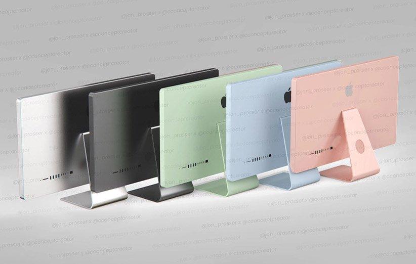 آیمک ۲۰۲۱ در پنج رنگ و مک پرو با ابعادی کوچکتر عرضه خواهد شد