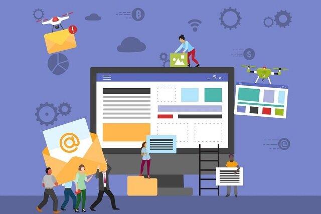 سایت سازها و پیش بینی بازار طراحی سایت در آینده