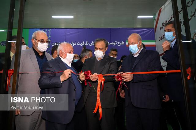 افتتاح خط تولید انبوه نخستین گیربکس ۶ سرعته در قزوین