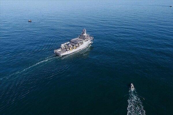 ۴ جنگنده یونانی به کِشتی تحقیقاتی ترکیه نزدیک شدند
