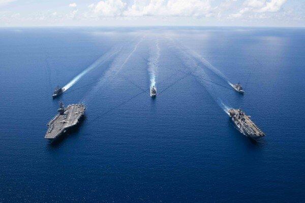 چین: آمریکا صلح و ثبات منطقهای را تضعیف میکند