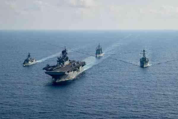 بیانیه ارتش چین درباره اقدامات تحریک آمیز آمریکا در تنگه تایوان