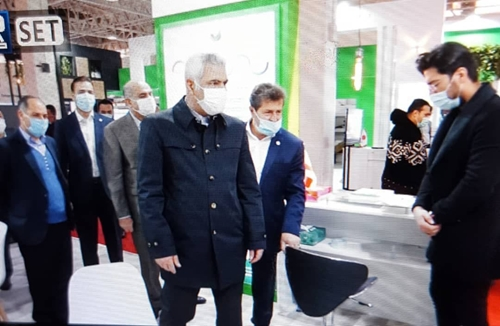 مدیرعامل پست بانک از نمایشگاه بین المللی تلکام بازدید کرد